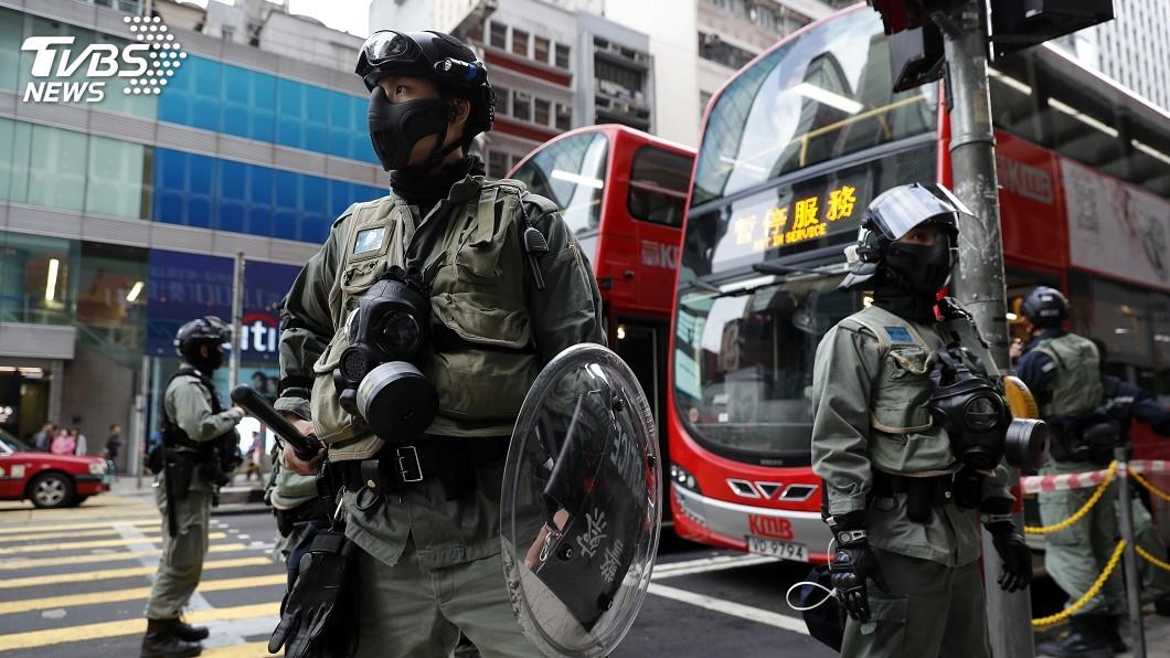 示意圖/TVBS 反送中衝突清潔工遇襲亡 警逮5人最小僅15歲