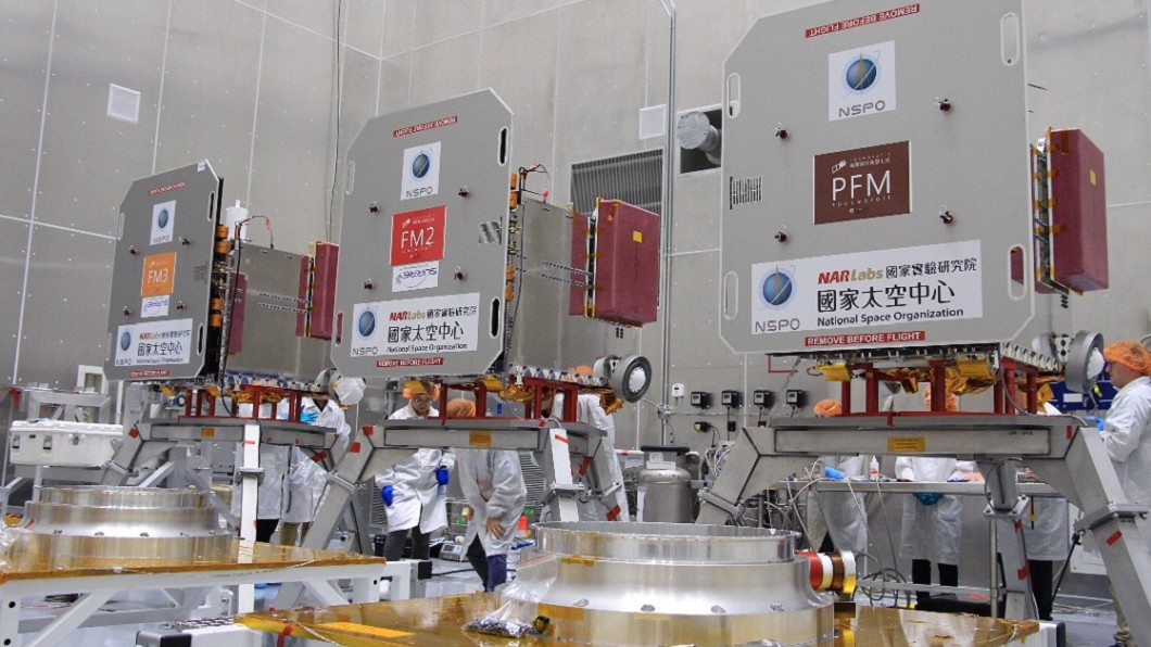 圖/國研院太空中心提供 福衛七號升空近半年 釋出首波大氣觀測資料