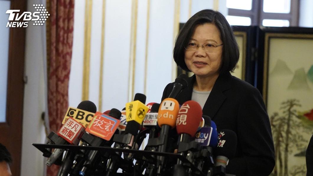 圖/中央社 世界人權日 總統:要用更大力氣保護民主自由