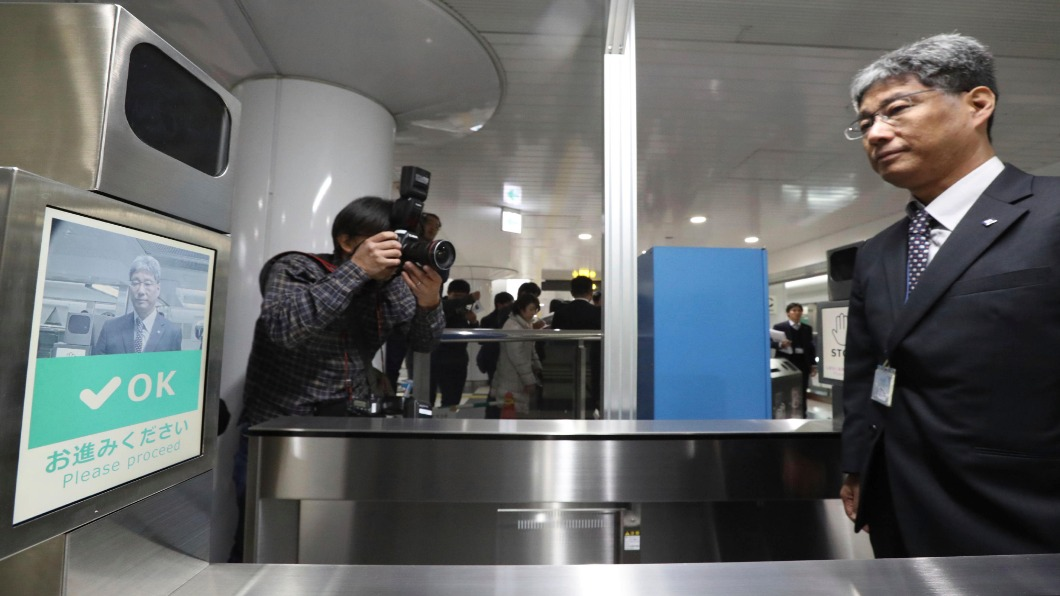 圖/達志影像美聯社 日本第一站!大阪地下鐵 測試人臉辨識