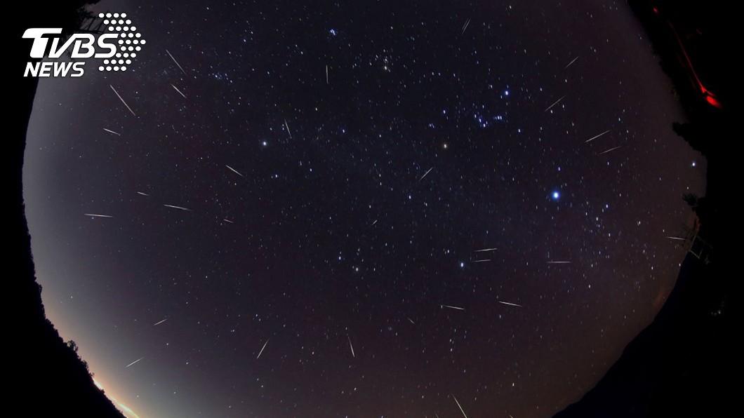 圖/中央社 雙子座流星雨今達最大期 「桃園以南」看到機率高