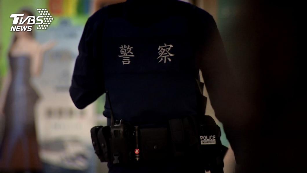 圖/TVBS資料畫面 警察制服悶熱 警政署:提供較透氣材質新選擇