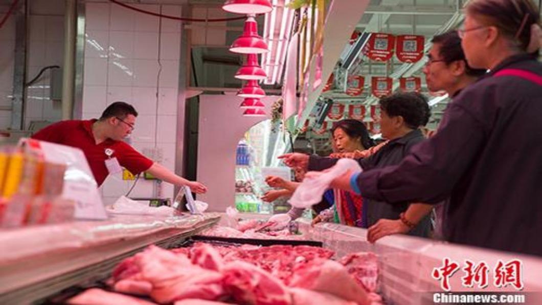 圖/翻攝自 中新網 中國大陸11月CPI年增 4.5% 恐陷嚴重通膨