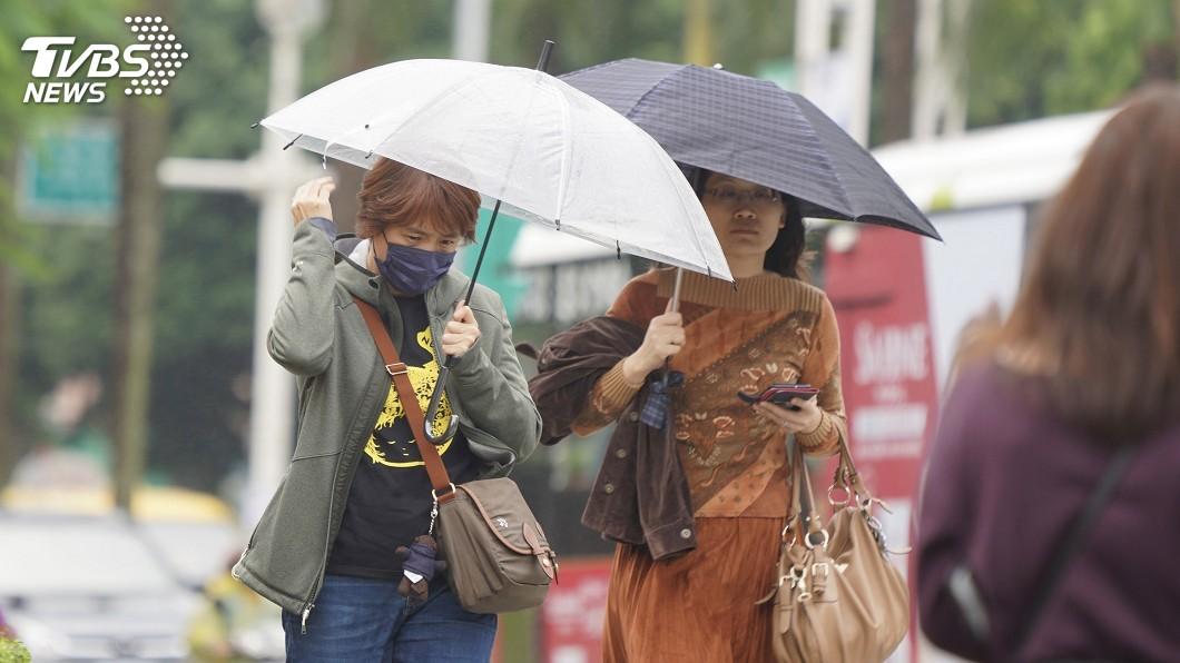 圖/中央社 東北風及水氣影響 春節全台空氣品質良好至普通