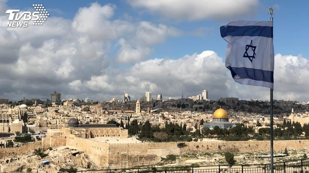 示意圖/TVBS 美願承認以色列併吞約旦河西岸 但要以巴談判