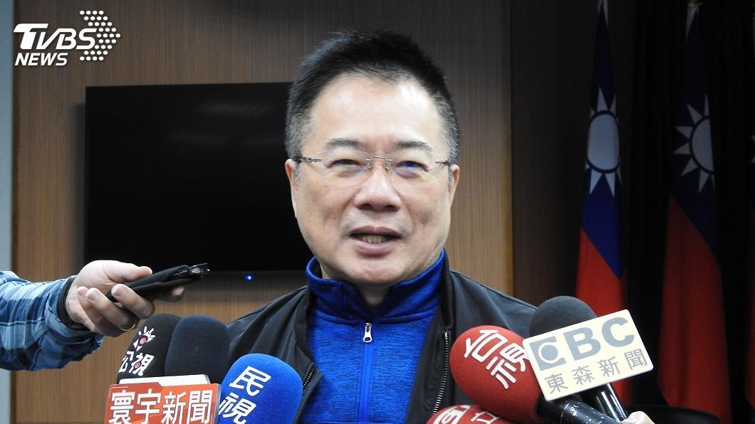 圖/中央社 藍營民代2次赴外交部抗議 蔡正元:事前完全不知道