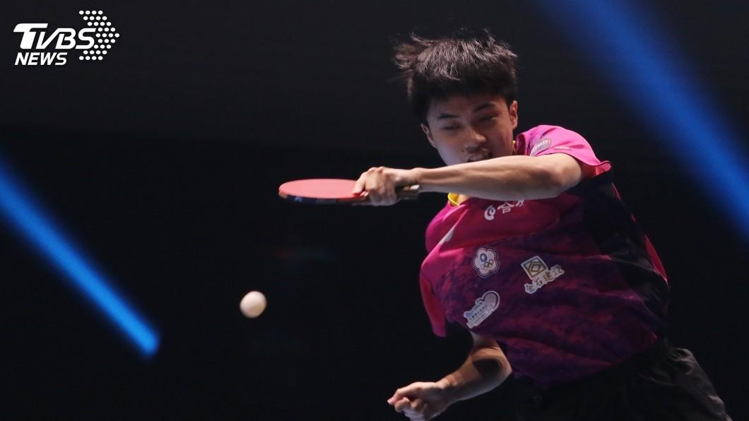 圖/中央社資料畫面 林昀儒、鄭怡靜桌球年終賽開胡 奧運混雙門票入手