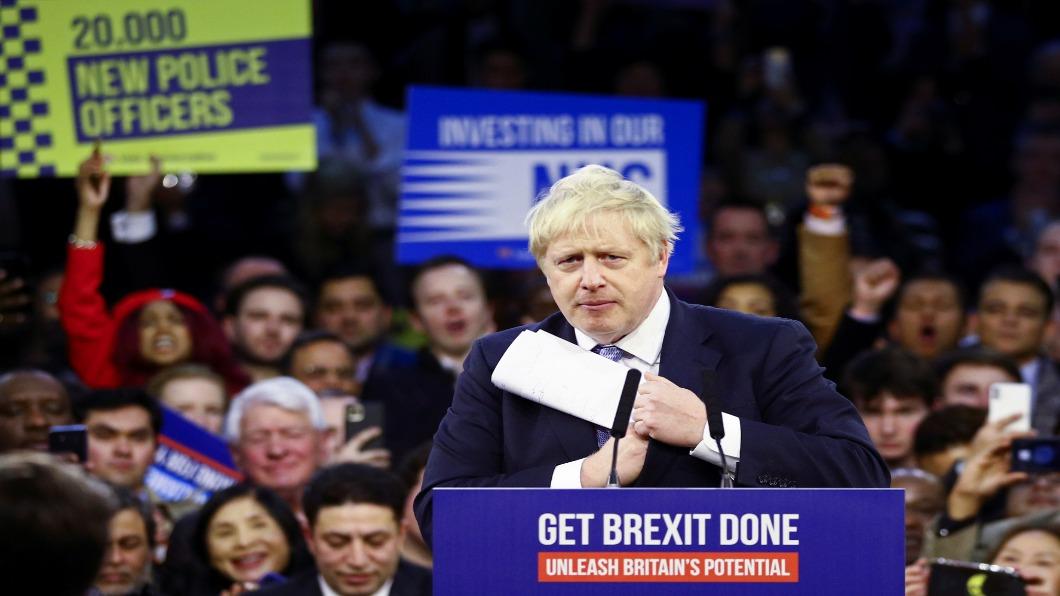 圖/達志影像路透 英國會大選投票 憂心脫歐.外企紛出走