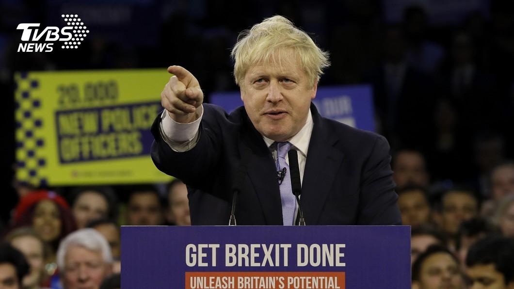 圖/達志影像美聯社 快訊/強生保守黨取得過半優勢 英國可望一月脫歐