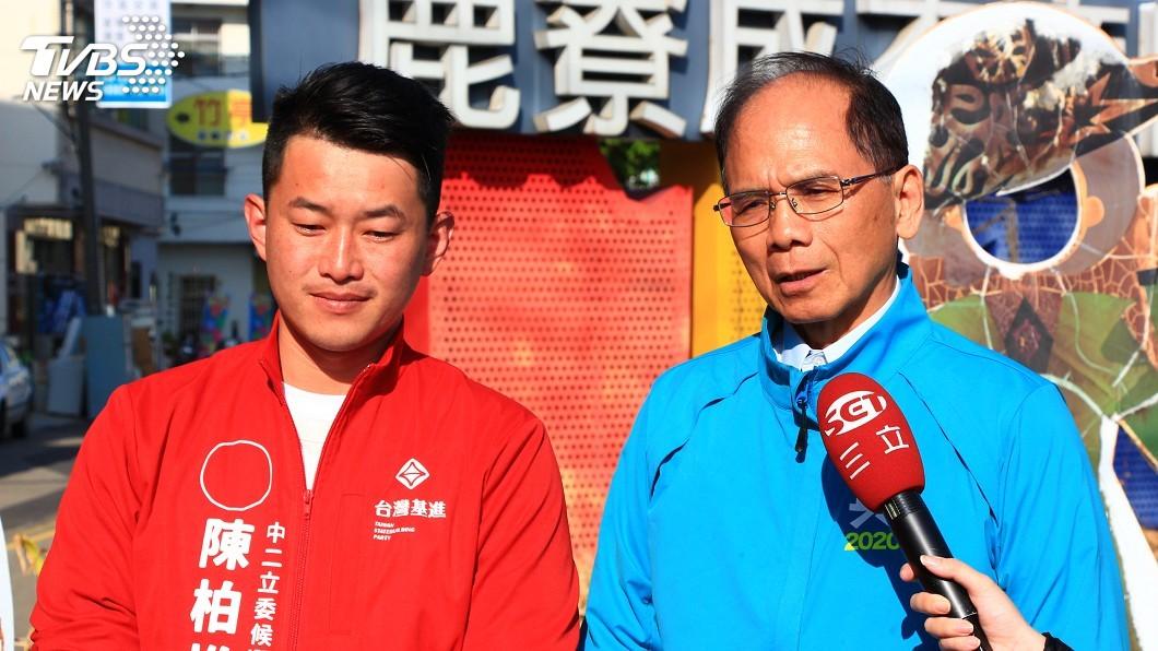 圖/中央社 游錫堃:未來應是綠紅之爭 2020要讓台灣隊勝利