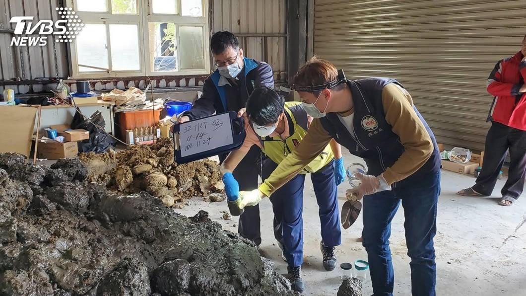 圖/中央社(翻攝照片) 新竹檢警破獲棄置化骨水案 逮捕主嫌羈押禁見