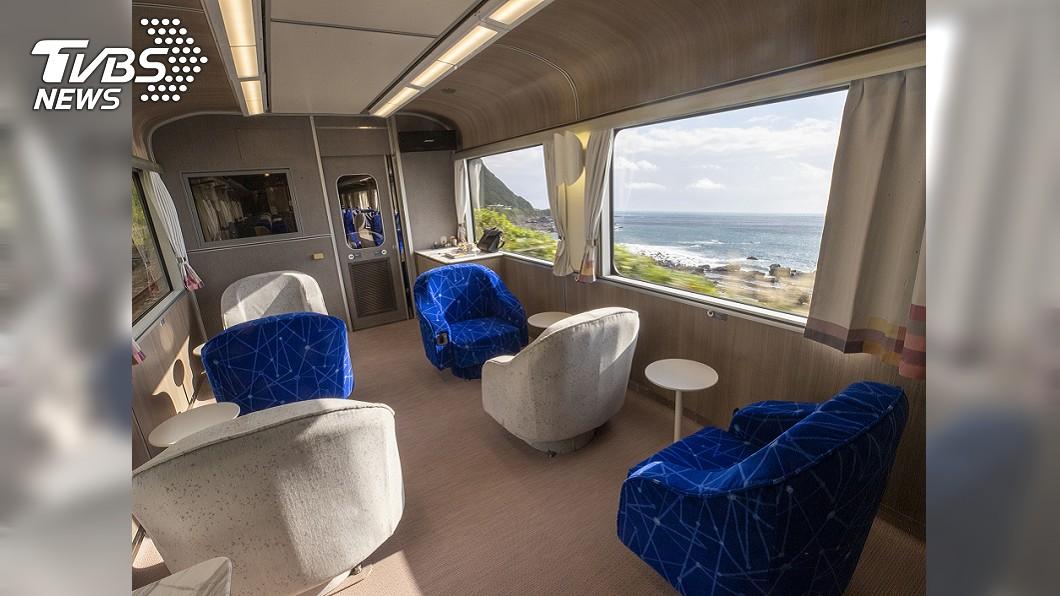 圖/中央社 讓罵最兇的人參與設計 台鐵觀光列車像飯店舒適