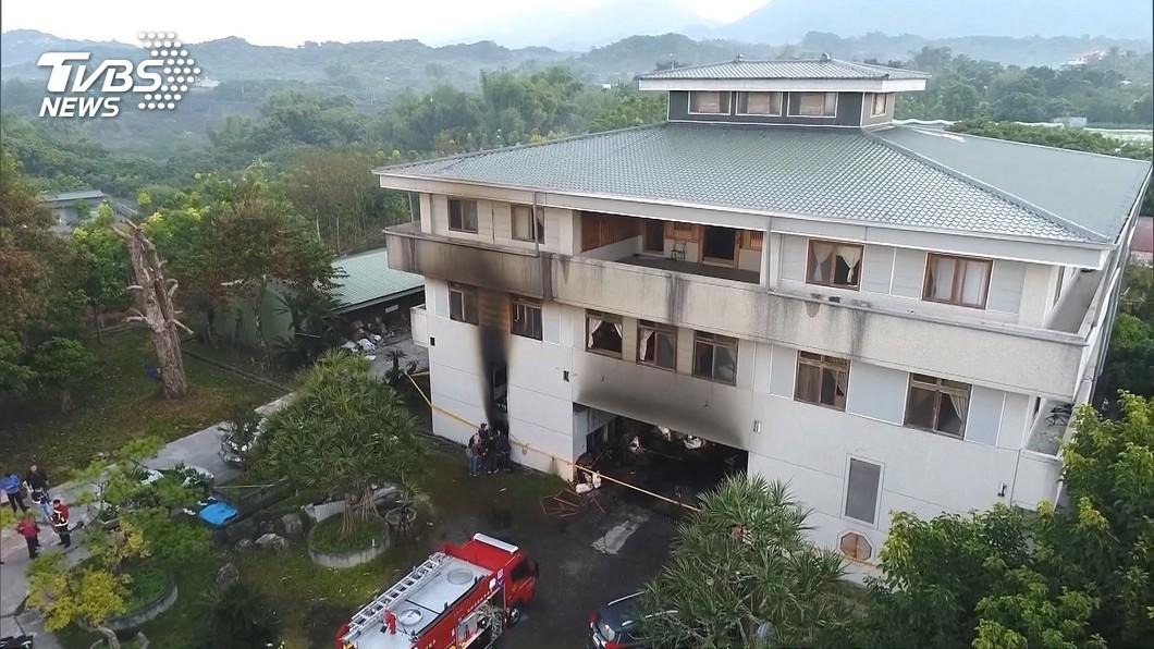 圖/TVBS資料畫面 台南玉井前輩堂縱火釀7死 凶嫌遭求處死刑