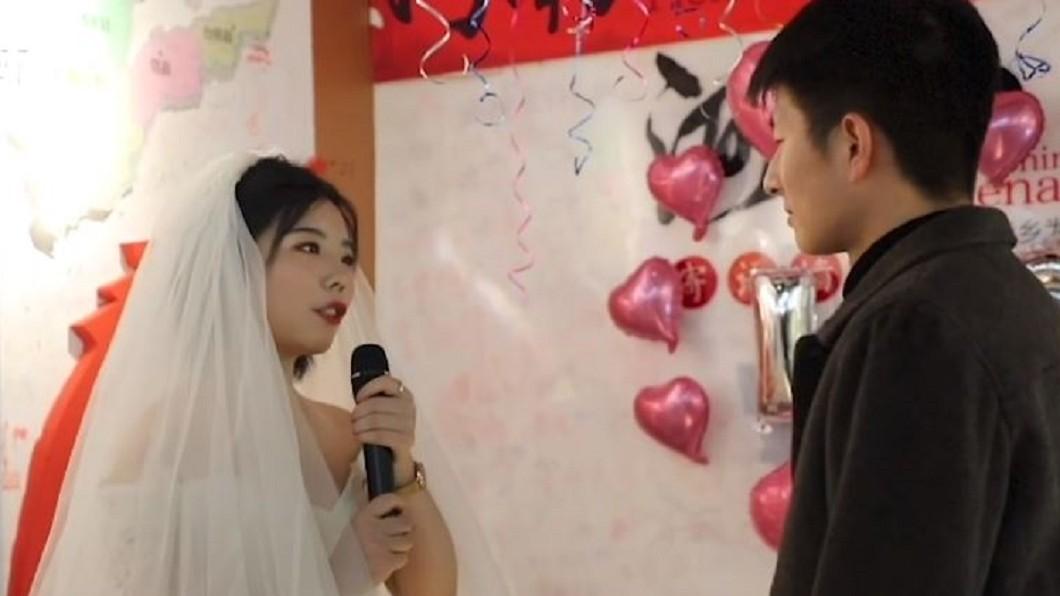 圖/翻攝自澎湃新聞 帶房產權狀、BMW鑰匙求婚男友 24歲女霸氣:我養你