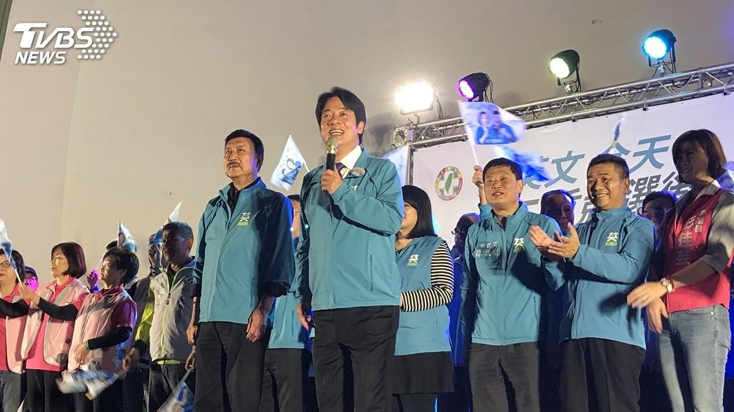 圖/中央社 讚余天愛台灣又有情有義 賴清德:我是他粉絲