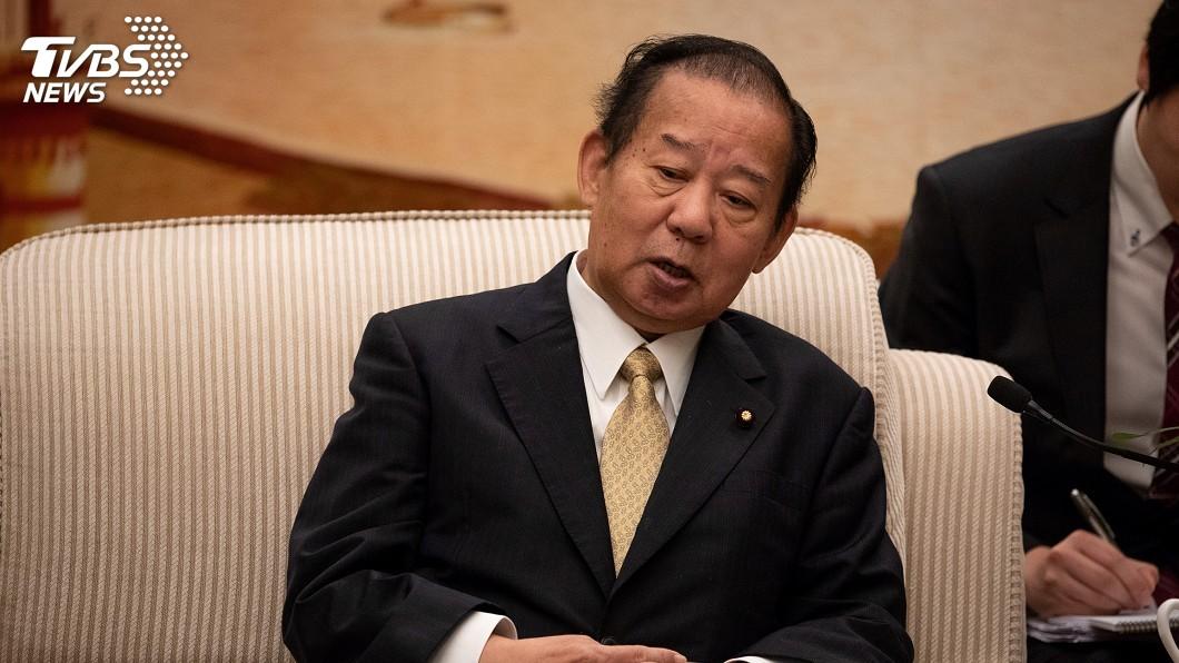 圖為日本執政黨自民黨幹事長二階俊博。圖/達志影像路透社 陸要求議員訪團人數倍於訪台 日方難從破局