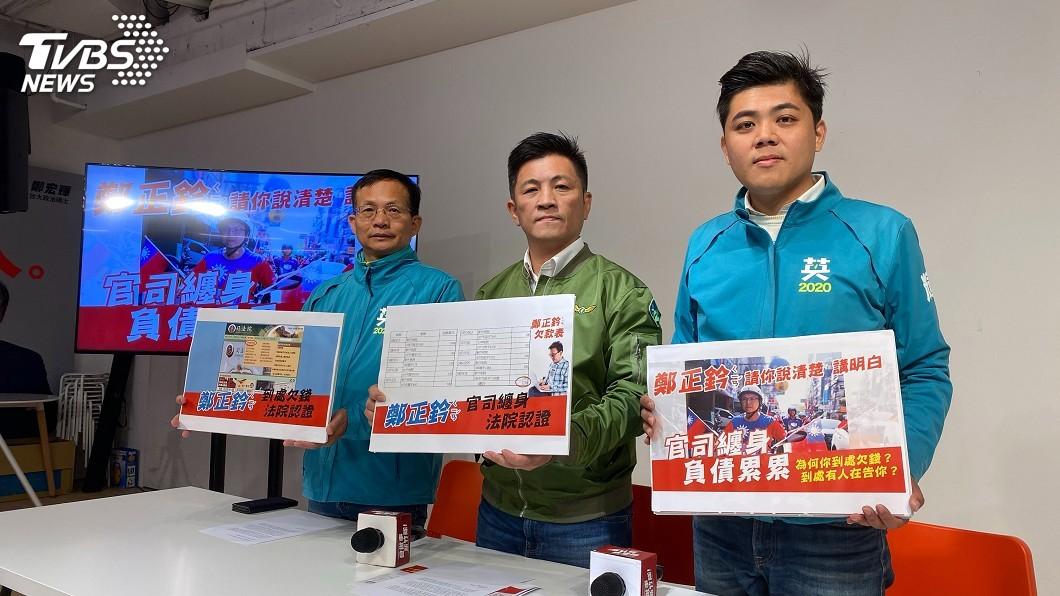 圖/中央社資料畫面 鄭正鈐提告譴責抹黑 鄭宏輝:均為公開資訊