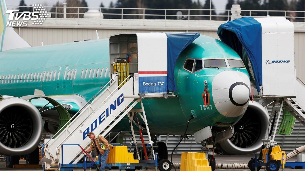 圖/達志影像路透社 737 MAX復飛尚無期 波音明年1月起暫時停產