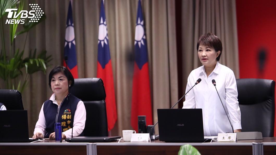 圖/中央社 未說明是否請辭副市長 楊瓊瓔如常出席市政會議