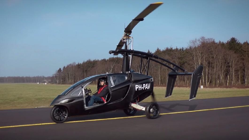 圖/翻攝自PAL- V YouTube 首輛飛行車美國開賣 駕駛需有飛行執照