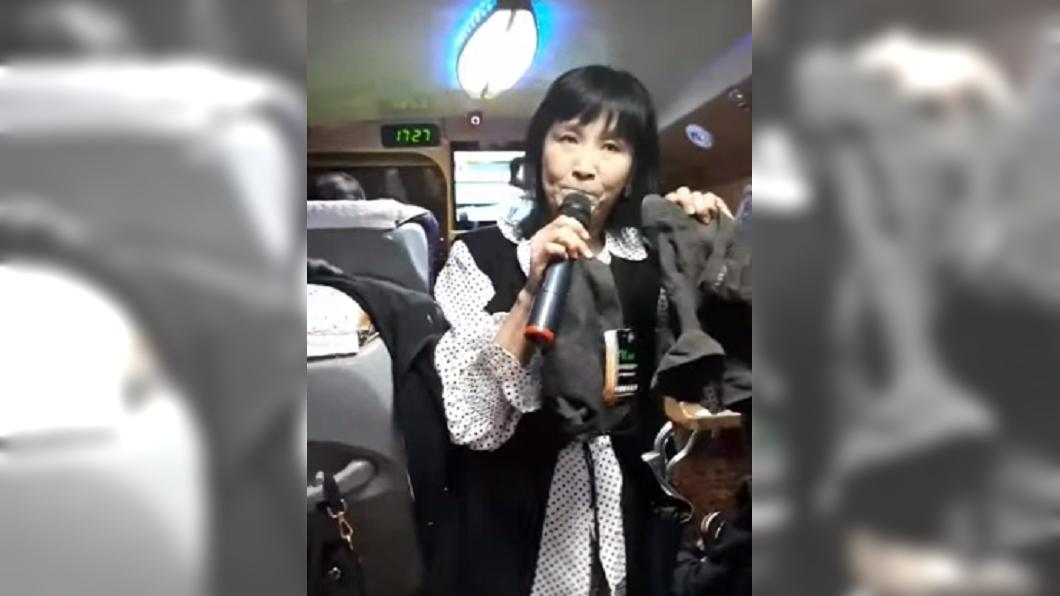 圖/翻攝自YouTube 爆遊覽車賣內褲遭客伸「鹹豬手」 馬妞回應了!