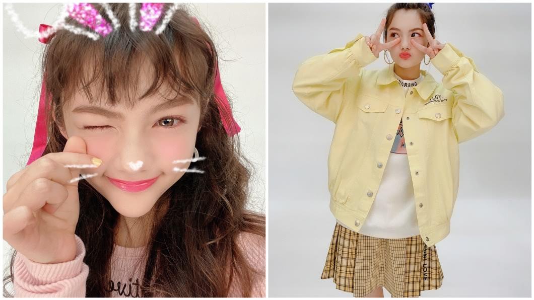 村重杏奈是偶像團體HKT48的成員之一。(圖/翻攝自推特) 基因太強!日普男娶俄正妹妻 3混血女兒高顏值網看呆