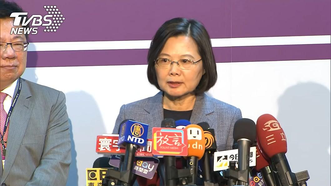 圖/TVBS 政見會完繼續嗆韓國瑜 蔡英文:苦人、庶民不是選舉工具