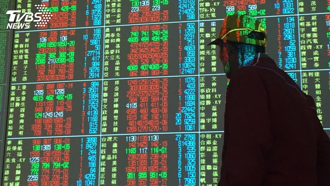 圖/中央社 台股價量齊揚 漲177點逼近1萬點大關