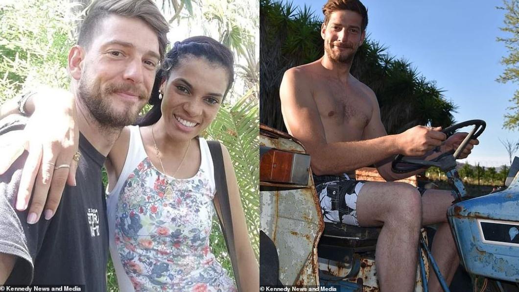 圖/翻攝自每日郵報 浪漫求婚竟被劇毒蜘蛛狠咬 男臀部感染挖5公分爛肉