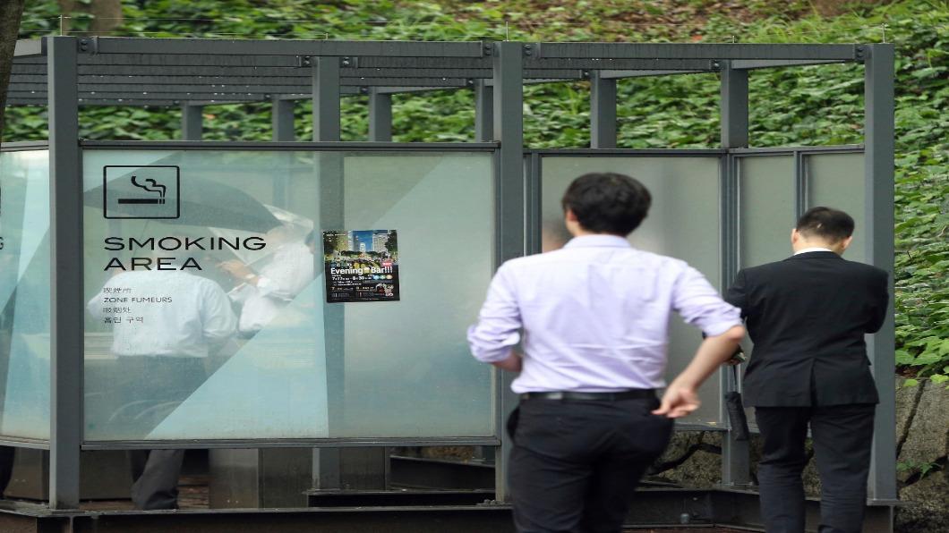 圖/達志影像路透 東京奧運嚴格禁菸 觀光巧思款待外國客
