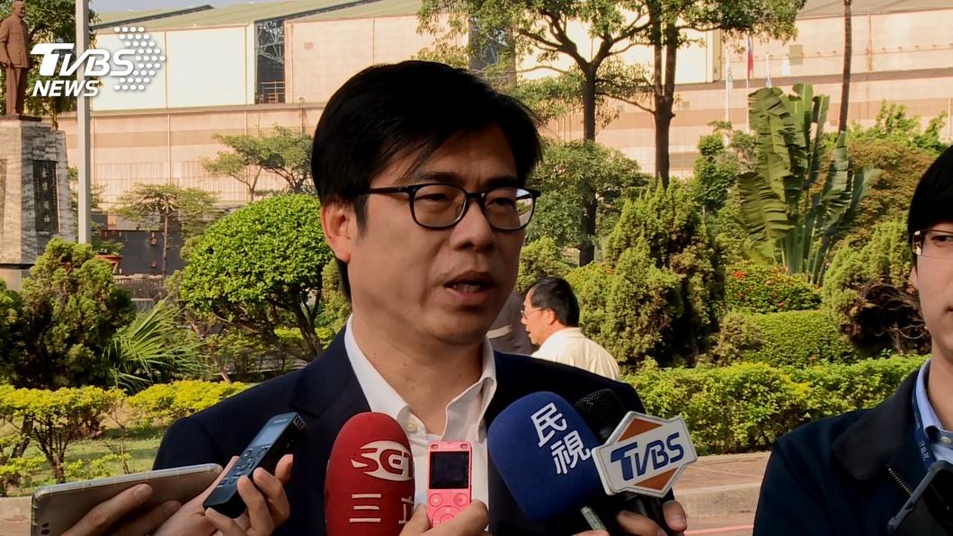 圖/TVBS資料畫面 傳準備市長補選? 陳其邁:現在還是行政院副院長