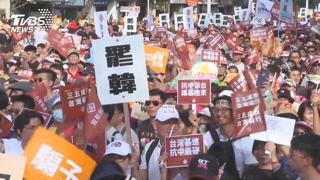 高雄市長韓國瑜面臨罷免危機。(圖/TVBS資料畫面) 命理師分析「罷韓」危機 結果曝光一陣驚呼