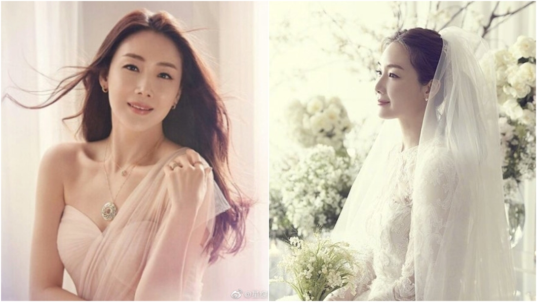 南韓女星崔智友。圖/翻攝自微博 1年前閃嫁小9歲神秘尪 44歲韓劇女王崔智友宣布懷孕