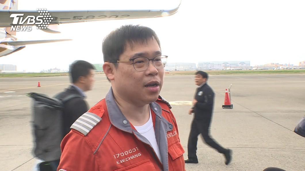 張國煒表示A330此次意外相當危險。(圖/TVBS資料畫面) A330落地險釀禍 張國煒驚「飛機滿載就死定」
