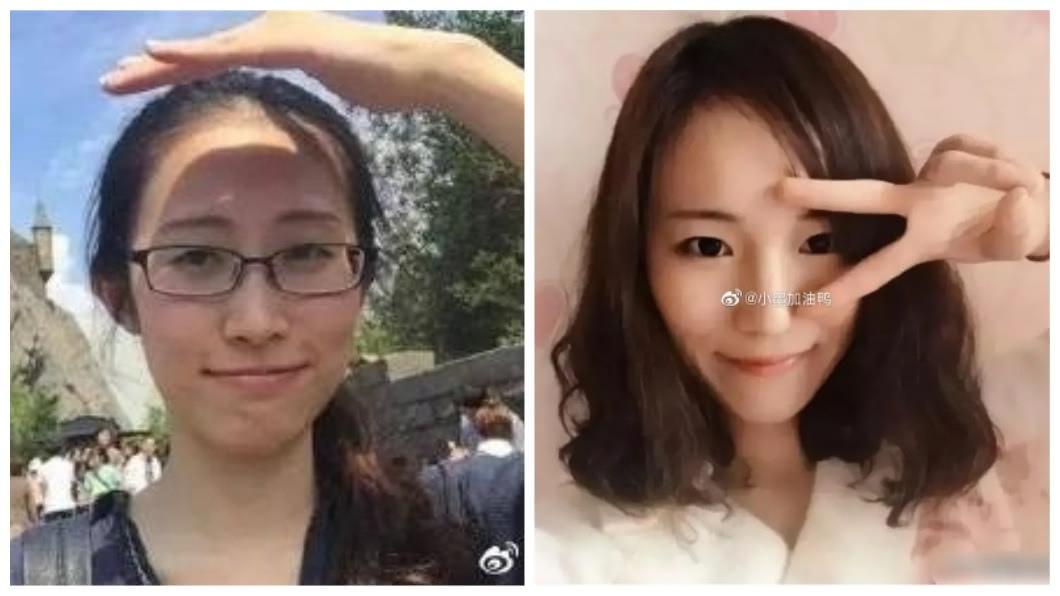 大陸一名留日女學生江歌(左),3年前為了幫好友(右)阻擋前男友的騷擾,結果命喪刀下。(圖/翻攝自微博) 好友幫她擋男友被殺死 女鎖門見死不救改名變網紅
