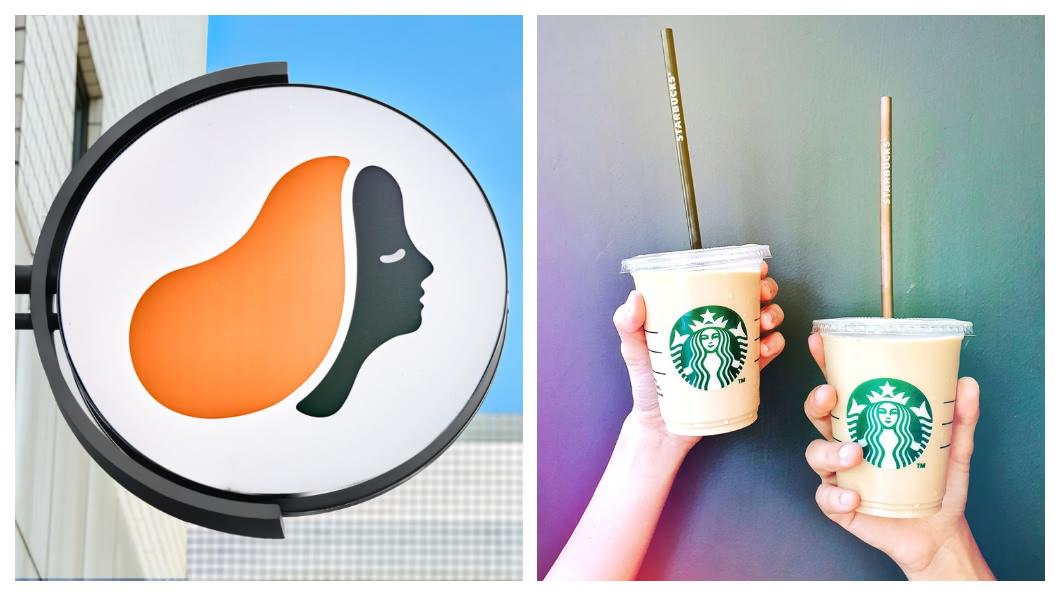 圖/翻攝自路易莎、星巴克臉書粉絲頁 連鎖咖啡龍頭換人?路易莎店數暴增 超越星巴克
