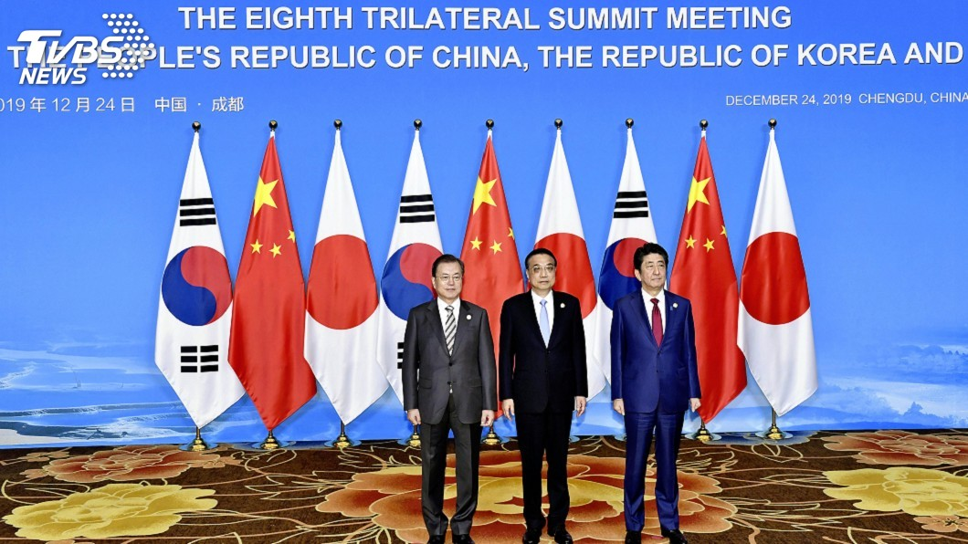 日中韓三國,不是相互爭鬥的魏蜀吳,而是共同合作的「新三國時代」 圖/AP 【觀點】合作是「新三國志」的關鍵字