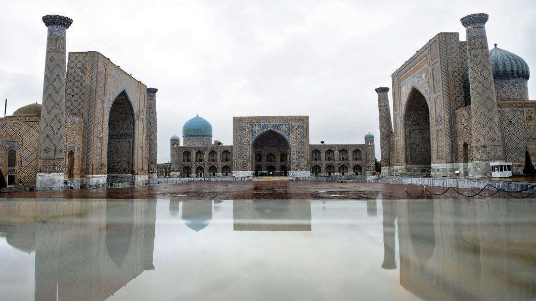 圖/達志影像路透 復刻絲路榮景 烏茲別克力衝觀光立國