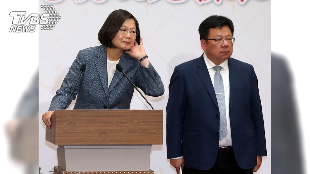 圖/中央社 哪個國家對台危害大 總統:難理解韓國瑜的遲疑