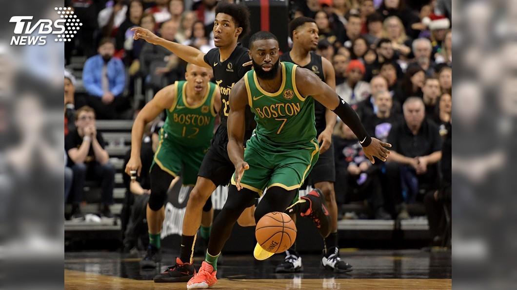 圖/達志影像路透社 NBA耶誕大戰 布朗發威率塞爾蒂克客場擒暴龍