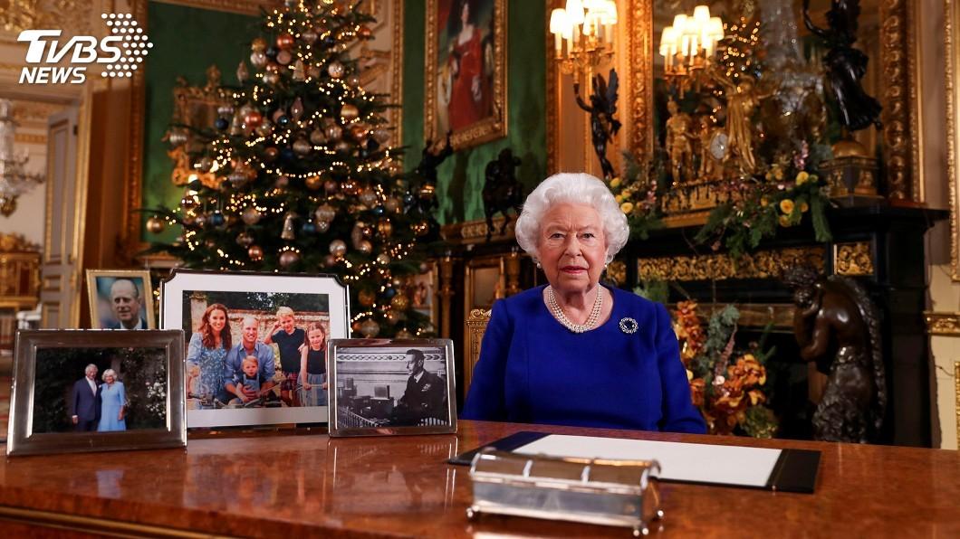 圖/達志影像路透社 英國女王發表耶誕談話 讚年輕世代護氣候倡環保