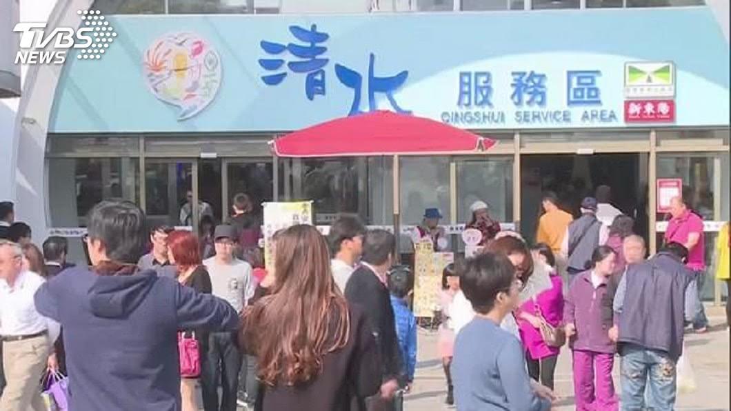 圖/TVBS資料畫面 日高速公路業者進軍台灣 清水休息站賣壽司、拉麵