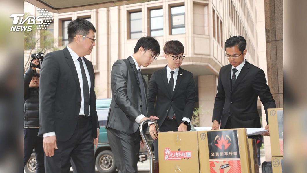 圖/TVBS 30天拚30萬連署 四君子公布罷韓二階段日期