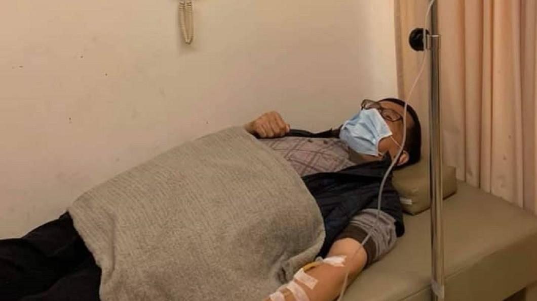 圖/翻攝自陳致中臉書 快訊/陳水扁罹急性腸胃炎 吐瀉不適診所就醫