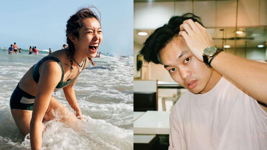 胡子彤(右)和歐鎧淳(左)交往3年。圖/(右)翻攝自胡子彤Instagram、(左)翻攝自歐鎧淳Instagram 男星交往3年女友戀上「女球員」…私密照流出
