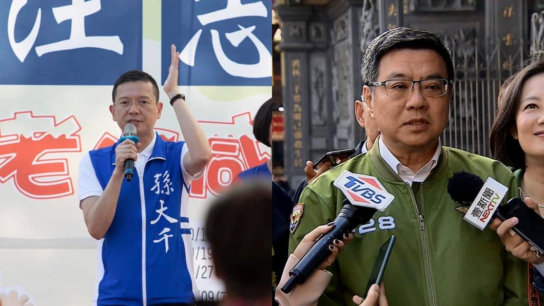 合成圖/(左)翻攝自孫大千臉書、(右)TVBS資料畫面 反擊卓榮泰 孫大千曝光:民進黨做了不敢說的10件事