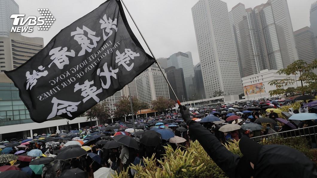 圖/達志影像美聯社 反送中青年逃至臺灣 欲設小香港當救援基地