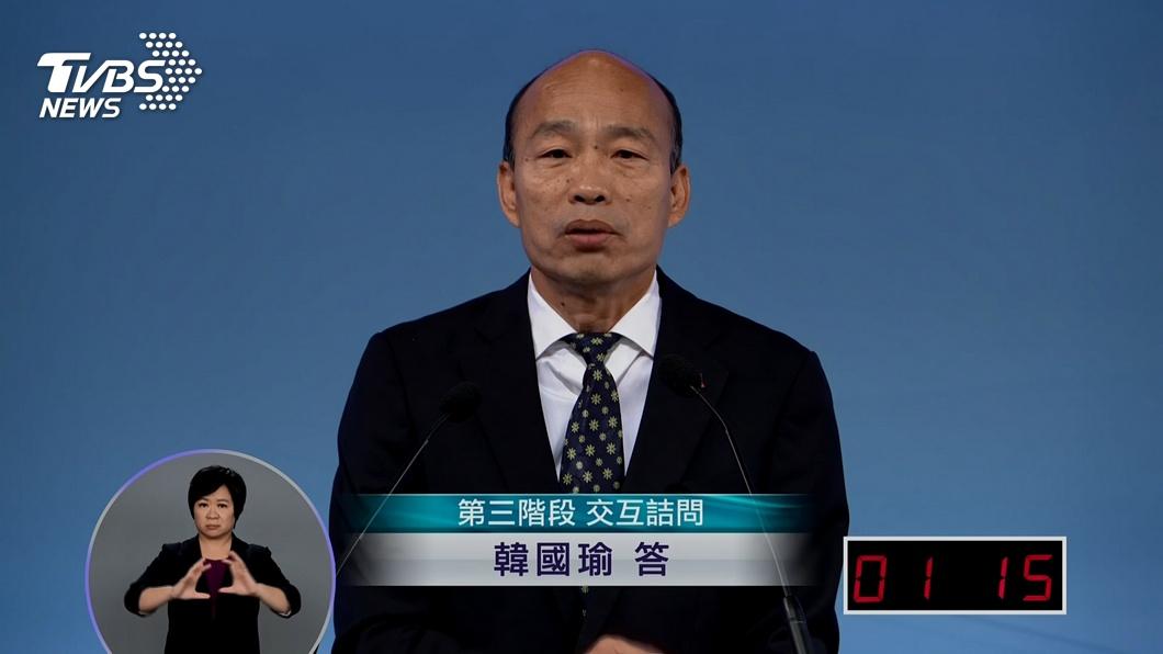 圖/TVBS 韓怒嗆「沒水準」 蘋果日報反擊:創民主惡例