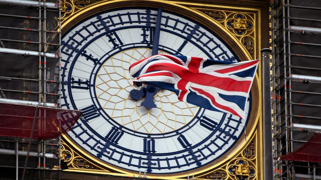 圖/達志影像美聯社 英國大笨鐘露臉 沉寂三年將帶全球跨年