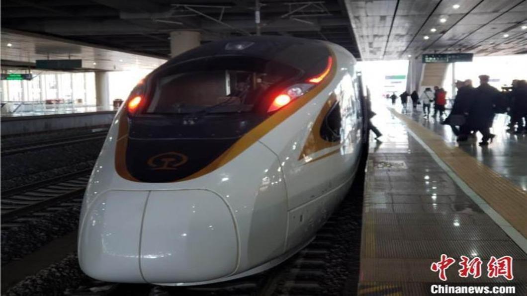圖/翻攝自 中新網 春運前大陸鐵路調圖 京張高鐵加入運力